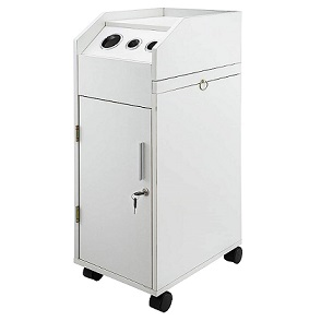 Salon Trolley White